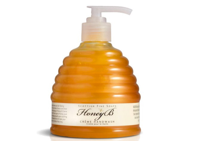 sapone liquido al miele Scottish fine soaps Honey B