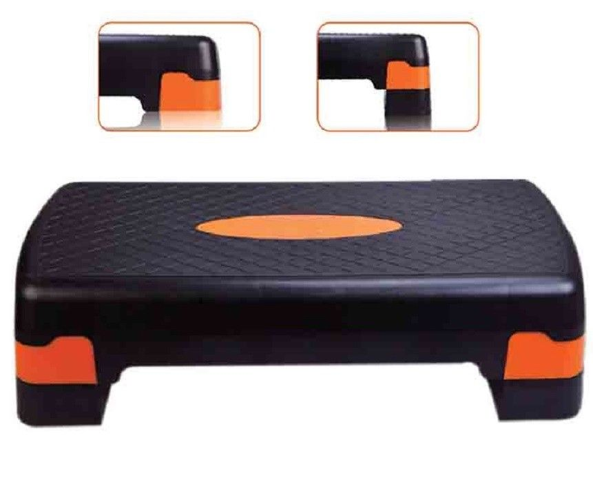 PEDANE ANTISCIVOLO ROBUSTO EVERFIT STEPPER-STEPUP MINI STEPPER CON COMPUTER